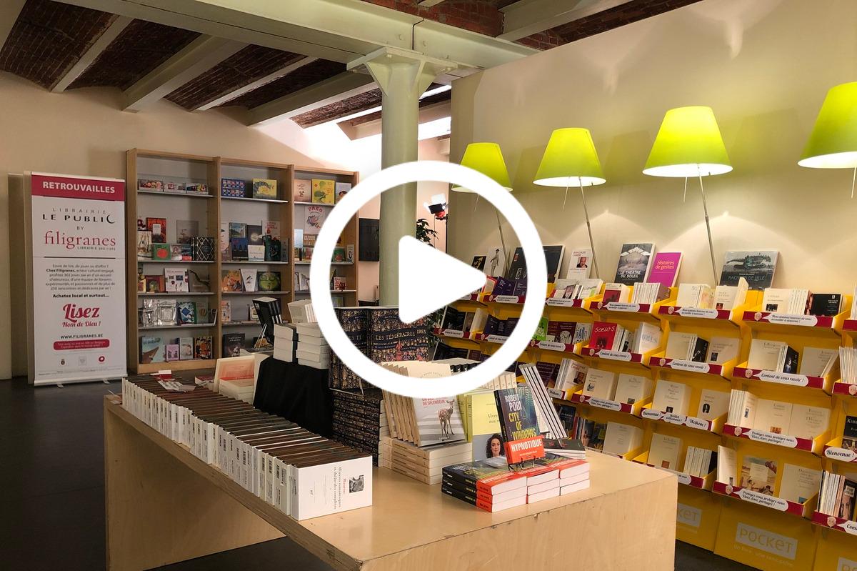 Découvrez la librairie Le Public by Filigranes